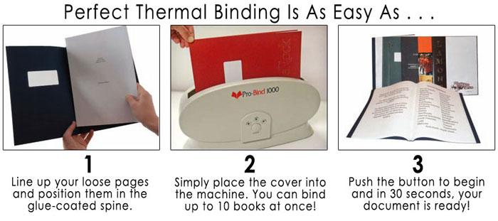 Pro Bind 1000 Thermal Binder Video